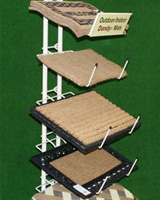 carpet display stands